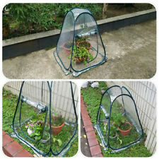 Mini Portable Greenhouse Walk In Grow Bag Green House Cover Garden Plant Outside