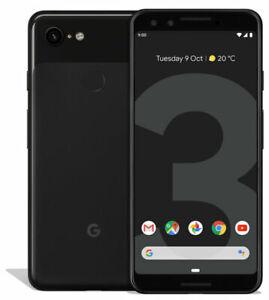 Google Pixel 3 64GB Just Black Unlocked Open Condition