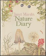 Janet Marsh's Nature Diary (1979) HC/DJ 1ST US ED~BOTANICAL ILLUSTRATIONS~NOTES