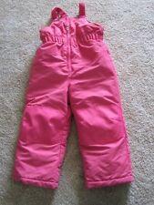 Healthtex 4T pink snow pants ski bibs girls