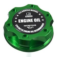 Green Oil Filler Cap Black Engine Oil Emblem For Ford 7.3L 6.0L 6.4L Powerstroke