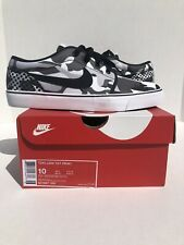 Nike Shoes Toki Low Print Classic Size 10 Casual White Black Grey New Sneakers