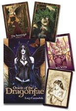 Oracle of The Dragonfae 9780738739007 by Lucy Cavendish Cards