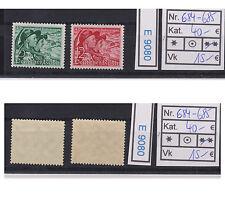 (E9080) DR Nr.684-685** Sudetengau in feiner Erhaltung