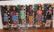 Barbie 2016 Fashionistas 6 Doll AA Lot Curvy,Tall, Petite NEW LINE PLAID