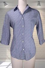 Ladies LIBERTY of LONDON Ditsy Floral Light Cotton Shirt Blouse UK 8 Summer £99