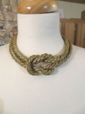 """NEW TALBOTS KNOT NECKLACE 16-19"""""""