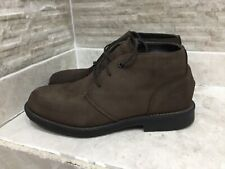 Mens Timberland With Anti-Fatigue Brown Leather- Nubuck  Boots size Uk 7.5