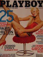 Playboy March 2005 | Paris Hilton Jillian Grace Deborah Gibson  #8102