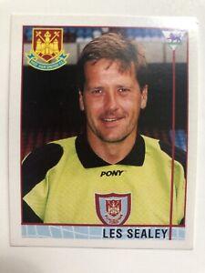 Merlin Premier League 1996 Football Sticker 354 Les Sealey West Ham United