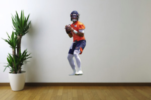 Justin Fields Chicago Bears Football Fathead Style Wall Decal Sticker