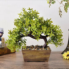 300mm Bonsai Tree in Pot Artificial Plant Decoration for Office/Home