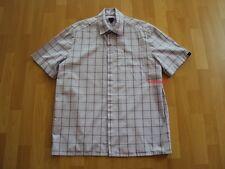 Original Pepe Jeans London Hemd kurzarm Shirt rosa grau weiß kariert Gr.: L PJL