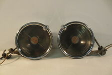 VINTAGE Pair TRIPPE SPEEDLIGHT SAFETY LIGHTS 1930's Accessory Cadillac Packard