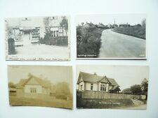 New Listing3 x Hacheston Suffolk Real Photo Postcards & 1 other showing the Post Office