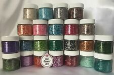 EDIBLE GLITTER 1/4 oz Pick your color Oh Sweet Art cake decorating  cupcakes