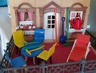 Vintage Plasco Dollhouse Patio Furniture (renwal Sized) + Irwin Yard Tools