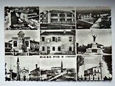 RIESE PIO X vedutine Treviso vecchia cartolina
