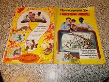 ALBUM L'AMICO DEGLI ANIMALI ED.VITA MERAVIGLIOSA 1956 CON 27 FIGURINE M.BUONO