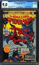 Amazing Spider-Man #134 CGC 9.0 2nd app. of Punisher!1st app. of Tarantula!L@@K!