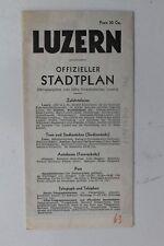932 ciudad oficial plan Lucerna 1936 de colores