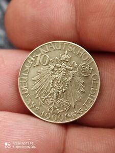 China Kiau Chau 10 cents 1909