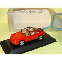 PORSCHE 911 TARGA 993 1995 Rouge Red MINICHAMPS 1:43