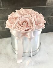 Foam roses in a hat box.  Mother's Day gift