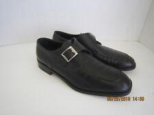 Bally men's Black Monk strap Orano Shoes Size US 11