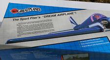 "RC Balsa Airplane Kit - Great Planes Ultra Sport 40  - Wingspan 55"""