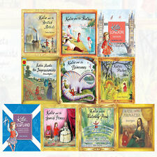 James Mayhew 10 Books Collection Set (Katie in Scotland,Katie and the Dinosaurs)