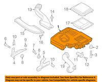 FORD OEM Air Cleaner Box-Lower Bottom Housing Body FV6Z9A600B
