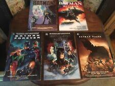 BATMAN 5 X MOVIE ADAPTATION GRAPHIC NOVELS