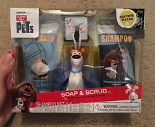 The Secret Life Of Pets Soap & Scrub Bath Gift Set