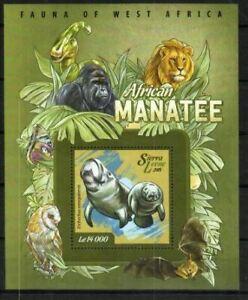 Sierra Leone Stamp - African Manatee Stamp - NH