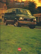 Truck Brochure - GMC - Safari - 1996 - Van Auto (T2246)