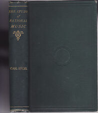 THE STUDY OF NATIONAL MUSIC. By Carl Engel. 1866. Nice Original Edition.