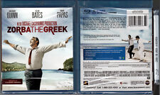 Blu-ray Anthony Quinn ZORBA THE GREEK Alan Bates Greek WS OOP Region A/B/C NEW