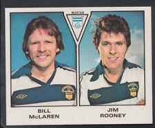 Panini 1980 Football Sticker No 562 - Bill McLaren / Jim Rooney - Morton (S442)