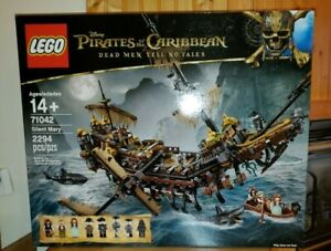 LEGO Pirates of the Caribbean Silent Mary 71042  NIB SEALED Retired Ship Boat
