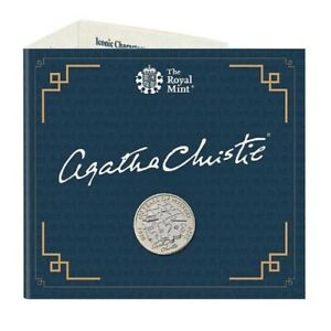 2020 AGATHA CHRISTIE £2 COIN 100 YEARS OF MYSTERY ROYAL MINT COIN PACK