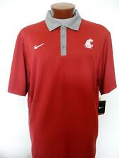 New Nike WSU Cougars Practice Performance Dry Fit Golf Polo Shirt Sz 2XL $60