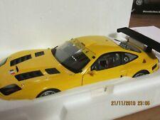 1/18 Kyosho - Ferrari 575 GTC 2004  jaune