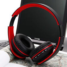 Foldable Wireless Bluetooth Headset Stereo Headphone FM Radio Earphone Universal