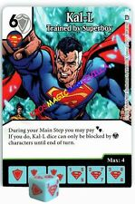 089 KAL-L: Trained by Superboy -Uncommon- WORLD'S FINEST Marvel Dice Masters