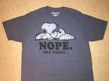 Peanuts SNOOPY Woodstock Charlie Brown Linus CARTOON movie New MEN'S T-Shirt