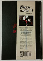 The Art of Vampire Hunter D: Bloodlust IDW Artbook Hardcover Book Comic Novel
