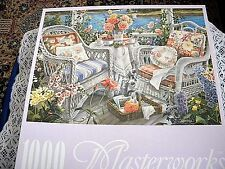 "RoseArt  ""Memorable Afternoon"" 1000  Piece Jigsaw Puzzle NIB"