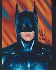 BATMAN Bruce Wayne VAL KILMER signed photo!