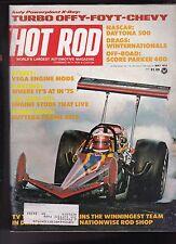 Hot Rod Magazine TV Tommy Ivo Karting Daytona 500 May 1975 FREE US S/H